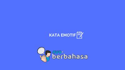 kata emotif
