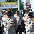 Kabaharkam – Kakorlantas Tinjau Pelaksanaan PPKM Darurat di Jawa Timur