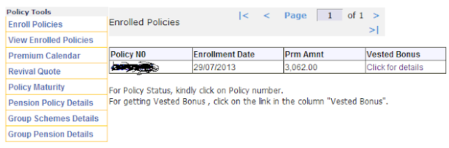 How to enroll a LIC policy online and check bonus details ...