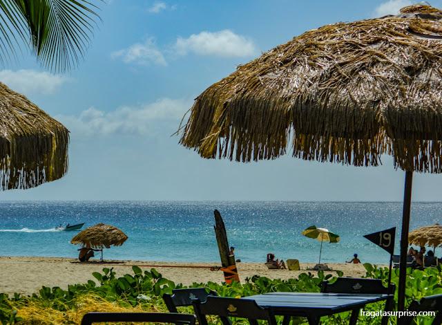 Restaurante na Praia da Conceição, Fernando de Noronha