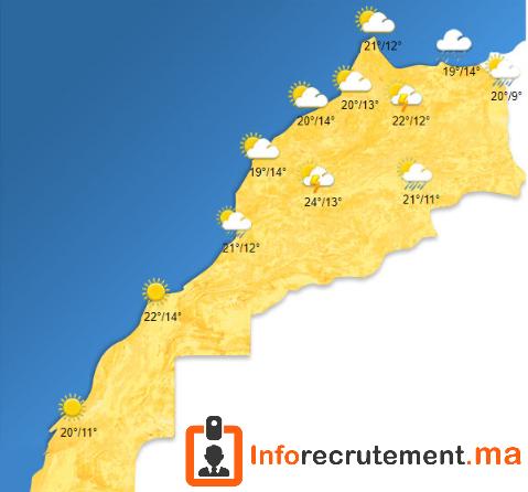Météo Maroc - Vendredi 18 Avril 2020