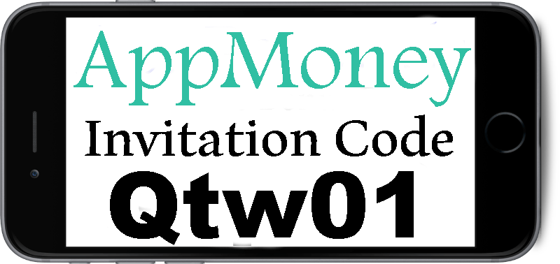 Appmoney Invitation Code 2017 Qtw01 Appmoney Iphone
