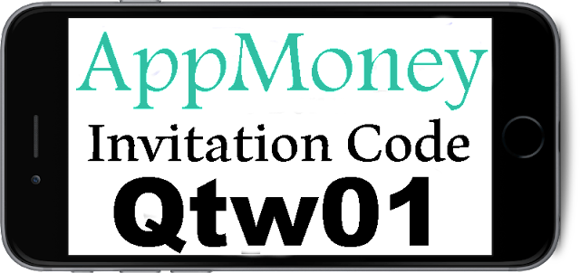 AppMoney Invitation Code 2016-2017, AppMoney Referral Code, AppMoney Sign Up Bonus