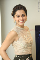 Taapsee Pannu in transparent top at Anando hma theatrical trailer launch ~  Exclusive 036.JPG