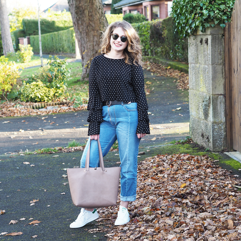 Student Style Blog Glasgow LOTD Missguided ASOS Stan Smiths | Colours and Carousels - Scottish Lifestyle, Beauty and Fashion blog