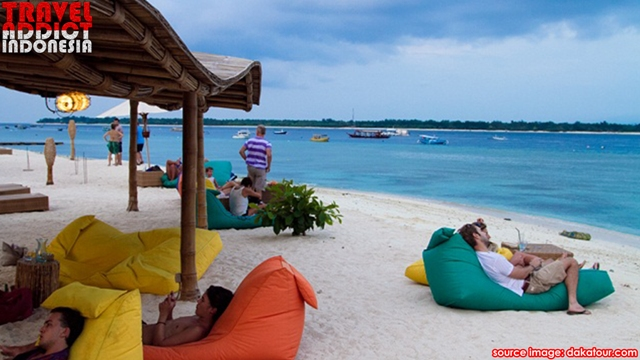 Gili Trawangan is a beautiful island that is a popular tourist destination in Lombok