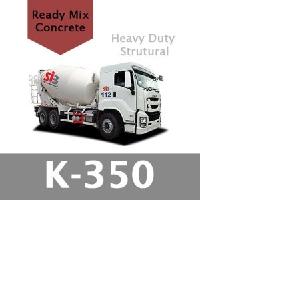 Harga Beton Cor Mutu K-350