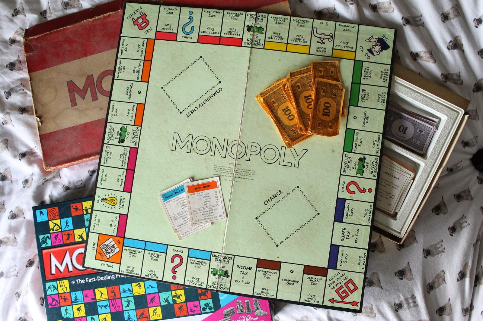 Thoughts people have during Monopoly