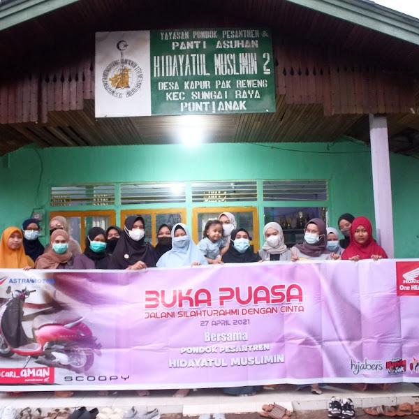 Bukber Astra Motor Kalbar Bersama Hijabers di Pondok Pesantren Hidayatul Muslimin