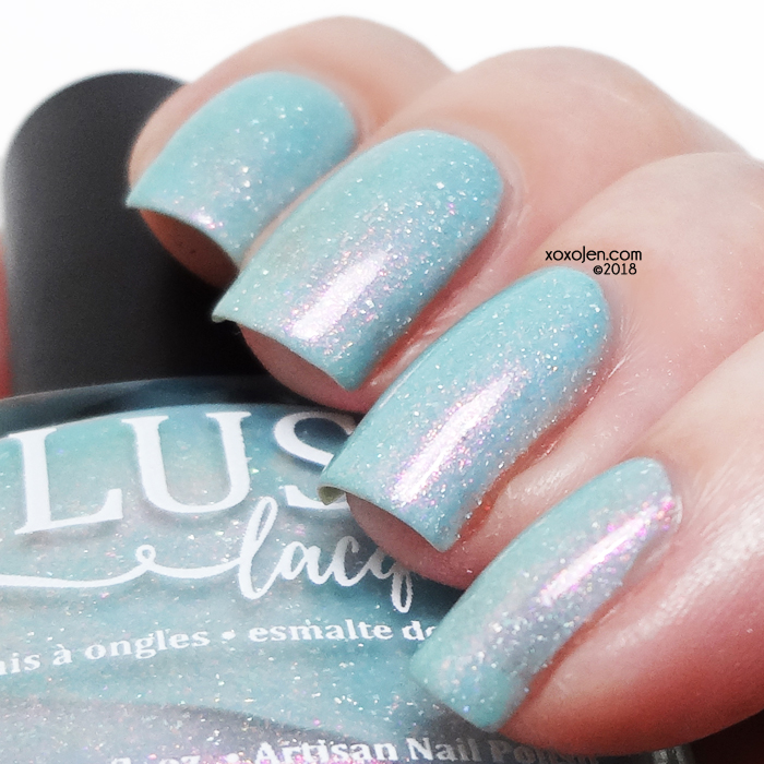 xoxoJen's swatch of Blush Lacquer Tropical Escape