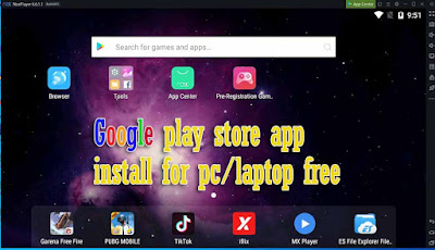 google play store app install for pc