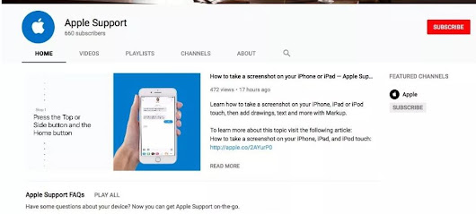 Apple Support launches YouTube channel featuring how-to tutorial videos for iPhone and iPad | ProIbweb