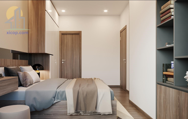 Mẫu nhà cấp 4 2 phòng ngủ 1 phòng khách thiết kế đẹp giá rẻ
