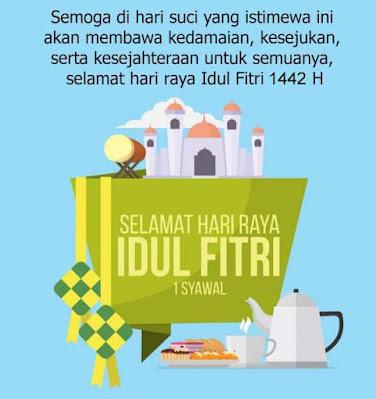 Ucapan Untuk Idul Fitri 2021 1442 Terbaru & Keren -hari idul fitri