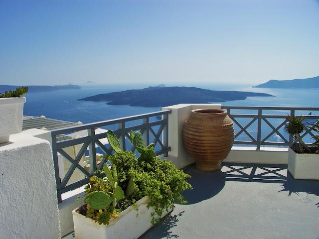 Santorini, Thira, Kaldera, Caldera