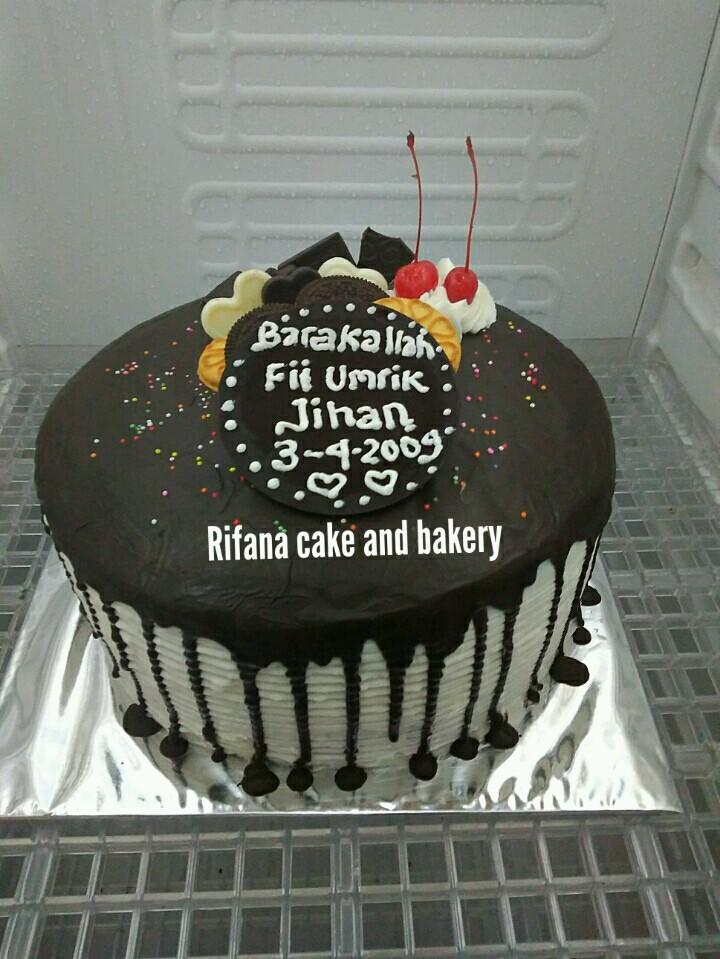 Jual Kue Ultah Cokelat Oreo Di Purwokerto Rifana Bakery