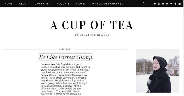 A Cup of Tea Gitasavitri.blogspot.co.id - Blog Pribadi Terbaik Di Indonesia