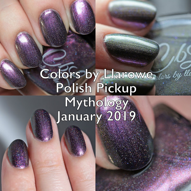 Colors by Llarowe Polish Pickup Mythology January 2019