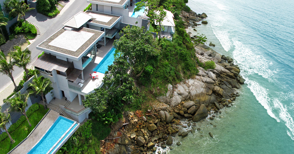 luxury seaside villa
