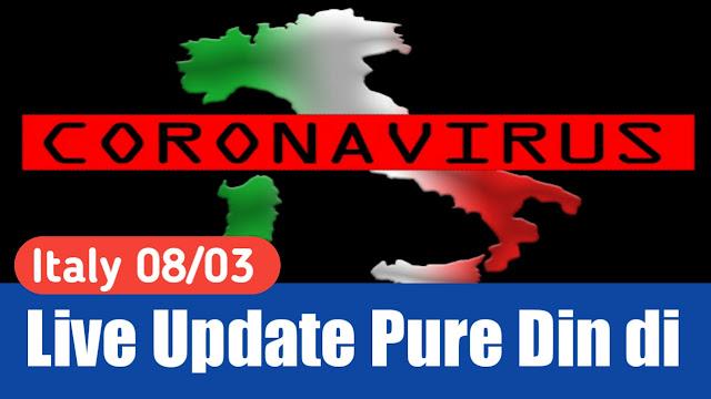 ITALY Update 08/03/2020