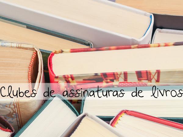 Dicas de clubes de assinaturas de livros para você escolher o seu