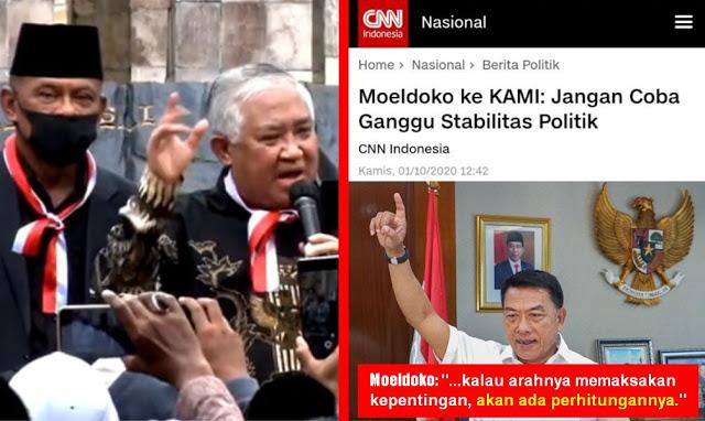 Tanggapan Presidium KAMI Din Syamsuddin Terhadap Ancaman Kepala KSP Moeldoko