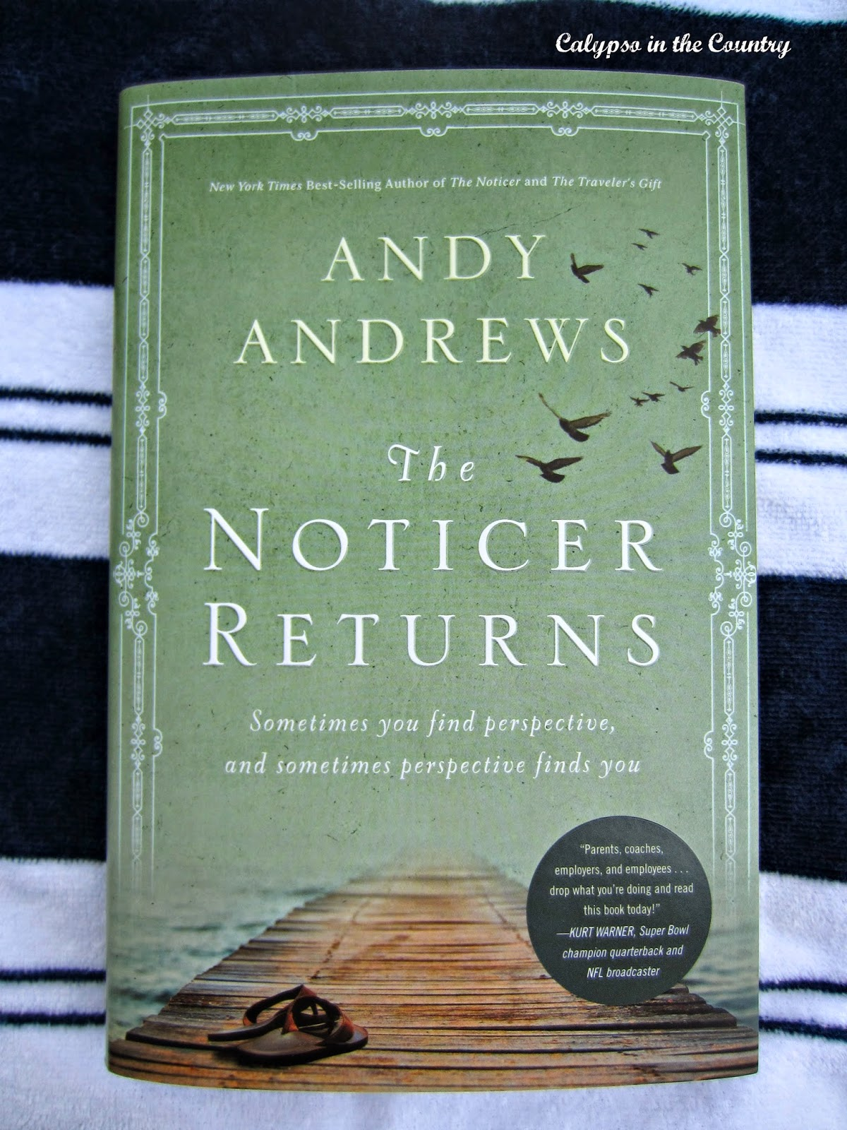 The Noticer Returns by Andy Andrews - Another great book in a series!