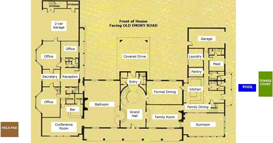 182 Whirlwind Lane Butcher Mansion Floor Plan Main
