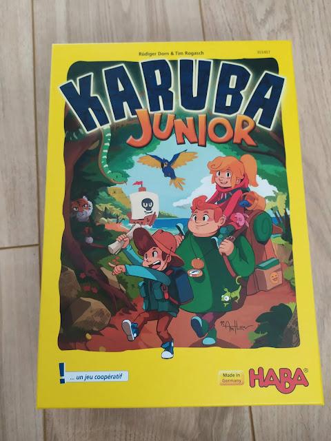 Test de jeu : KARUBA Junior de chez Haba