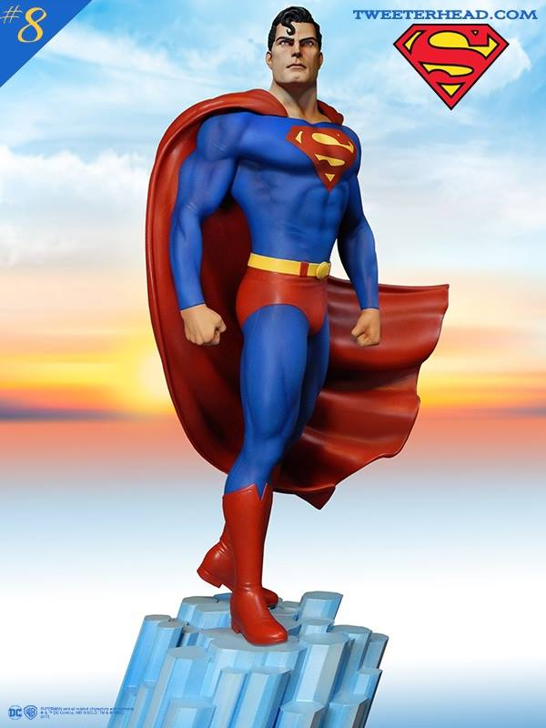 Infinite Earths: Tweeterhead Reveals Super Powers Superman Statue