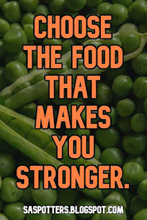 Choose the foods that make you stronger