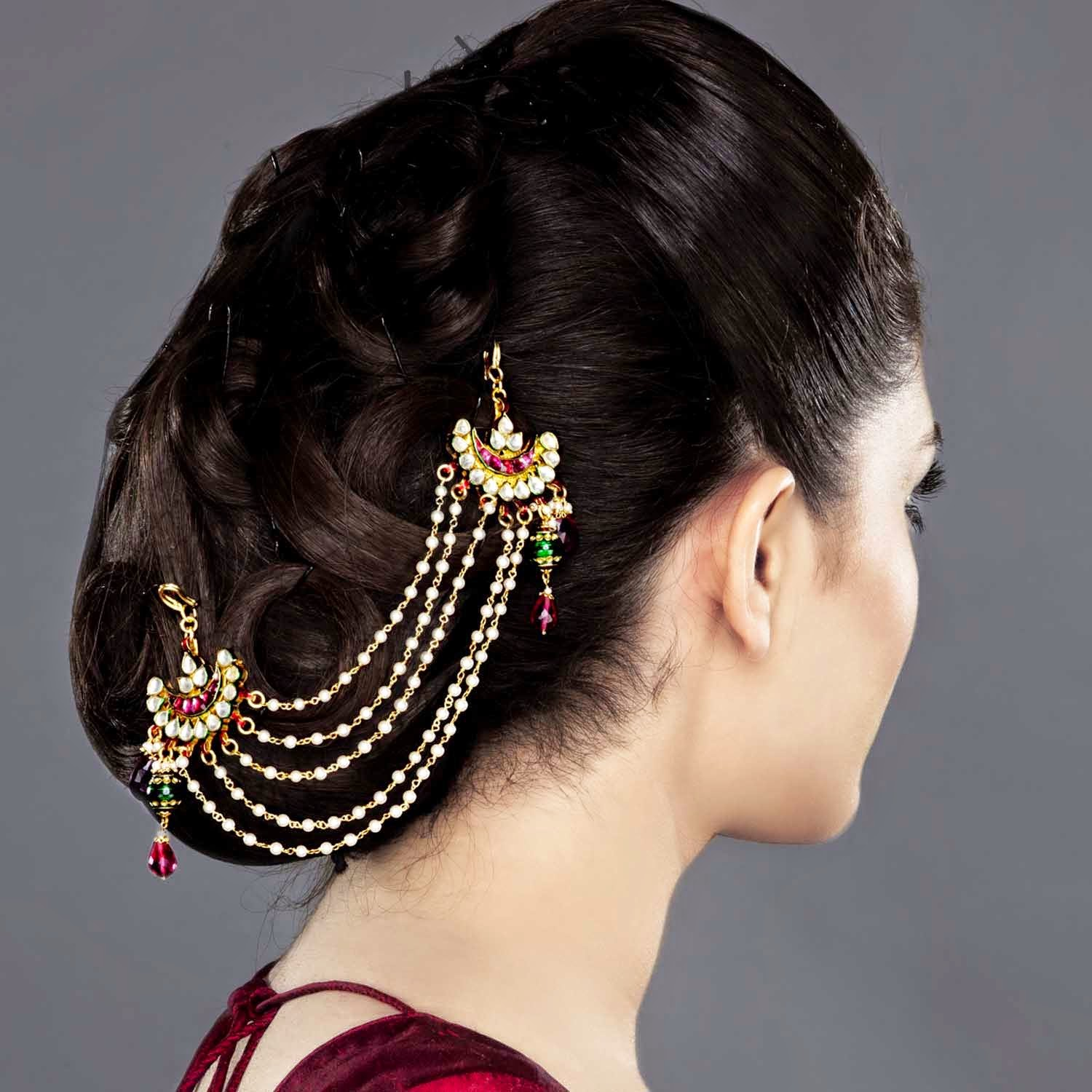 Simple Juda Hairstyle For Wedding: LATEST JUDA HAIRSTYLES 2014 FOR WOMEN Wallpapers