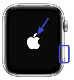 cara force restart apple watch