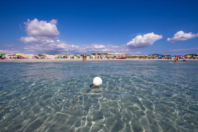 Spiaggia Is Arenas biancas-Sardegna