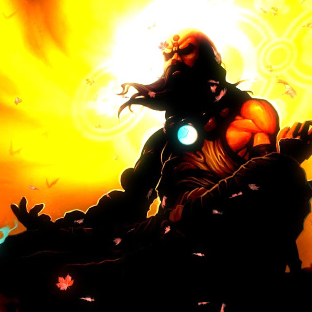 Art Monk Meditation Wallpaper Engine