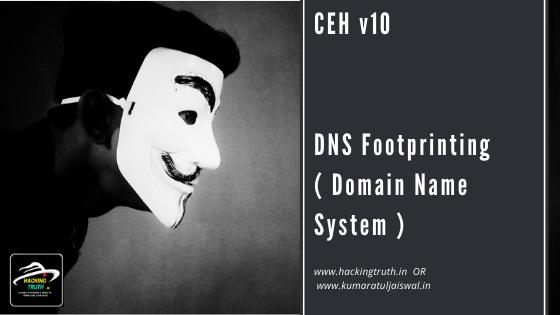 CEH v10 DNS Footprinting