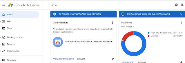 Google adsense di nonaktifkan ? Cara ini dijamin ampuh