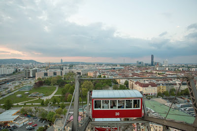 Giant Ferris Wheel Vienna by Laurence Norah-2