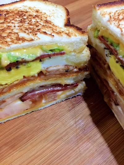 Resepi Grilled Sandwich Lazat!!