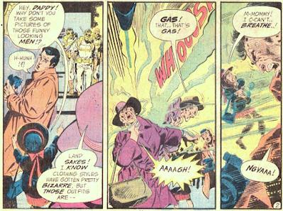 Weird Adventure Comics #436, gas attack