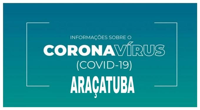 Informativo Novo Coronavírus (COVID-19) Situação Epidemiológica Araçatuba/SP - atualizada em 07/04/2020, até às 16h.