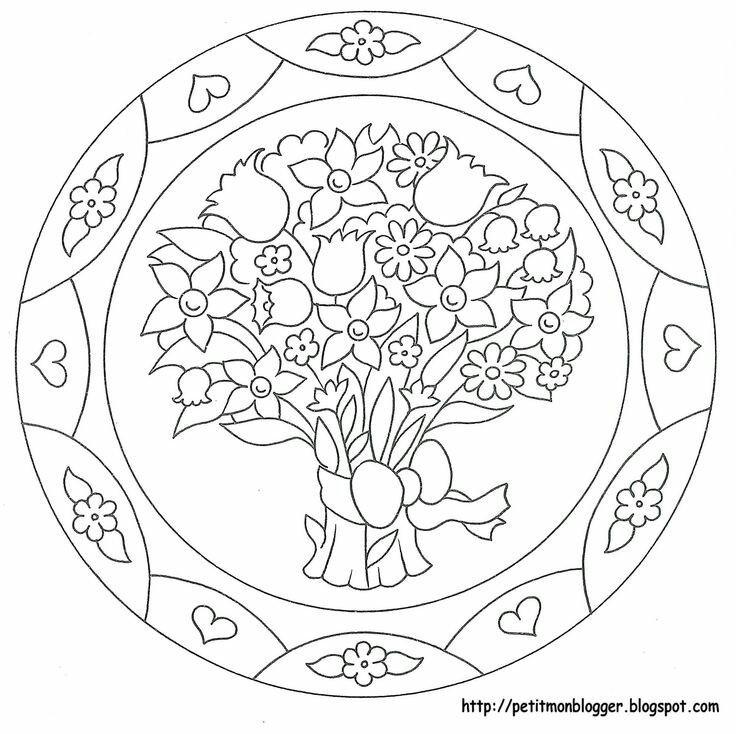 Mandala Drawing Design Tipss Und Vorlagen