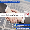 SellAnySolar.com Premium Domain For Sale