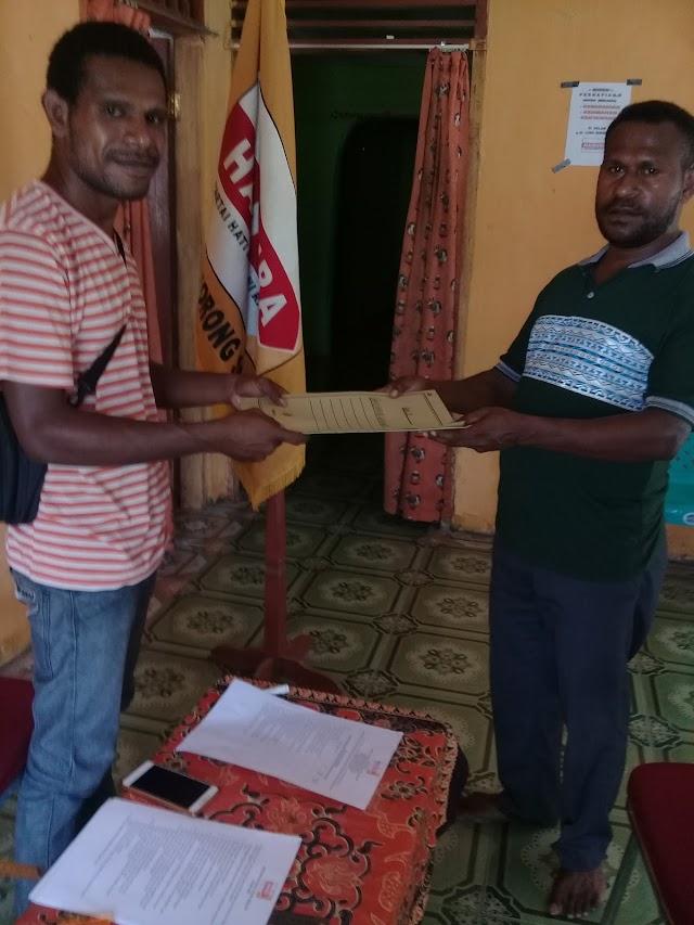 pengurus DPC Partai HANURA Provinsi Papua Barat