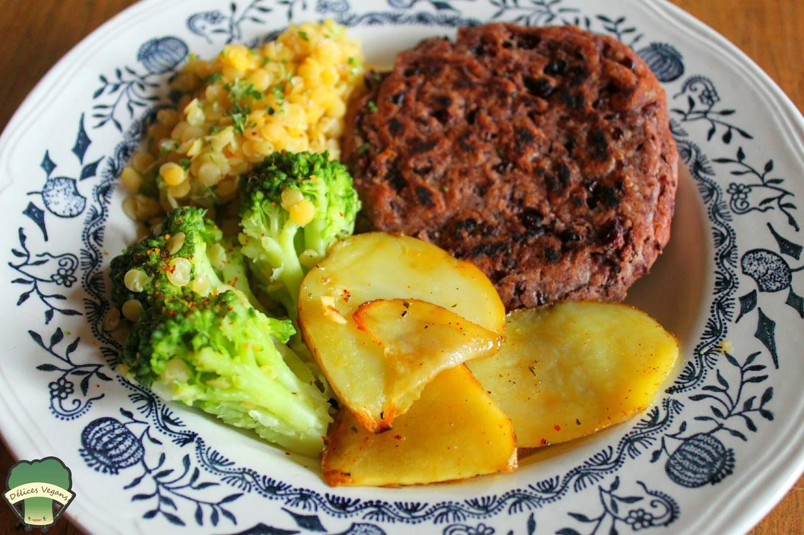 4 id es d 39 assiettes v g tales un plat quilibr des pommes de terre au four un wrap gourmand. Black Bedroom Furniture Sets. Home Design Ideas