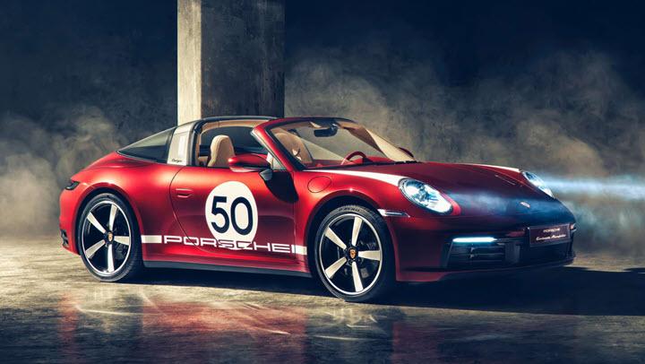 Porsche 911 Targa 4S Heritage Design Edition giá 180.600 USD