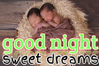 Cute baby GN image, good night cute baby photos