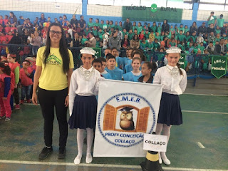 Segunda (26/08) animada com a abertura do 15º Jogos Escolares de Jacupiranga