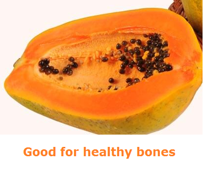 Health Benefits of Papaya - Paw paw Good for healthy bones
