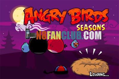 Angry birds seasons 2. 3 cherry blossom festival nokia n8 s^3.